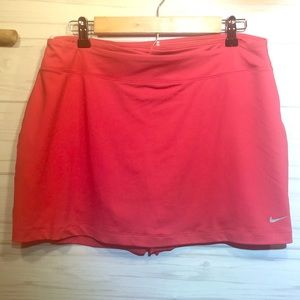 Nike Golf Dri-Fit Skirt/Short Combo Size L